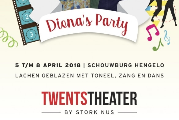 Diena's Party in Schouwburg Hengelo